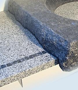 waschbecken aus individuelle waschbecken aus massivem stein gefertigt. Black Bedroom Furniture Sets. Home Design Ideas